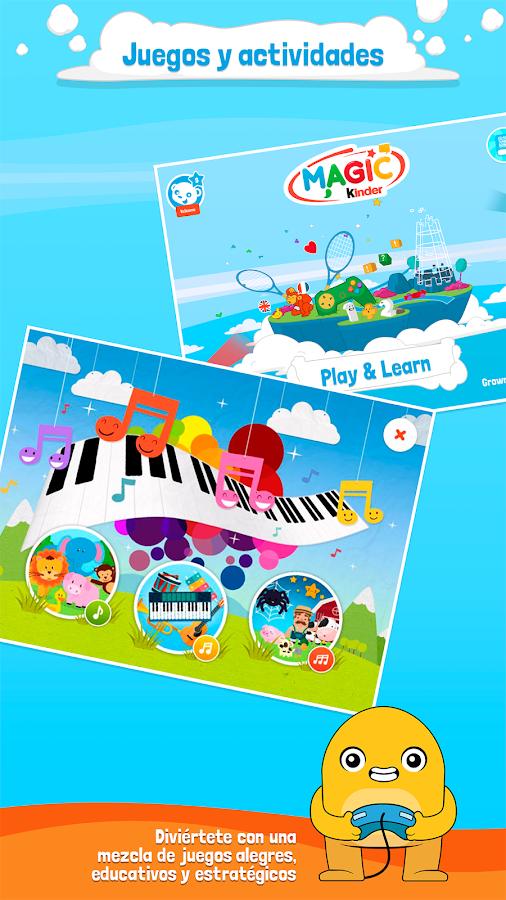Magic kinder app oficial juegos gratis aplicaciones de android en google play - Kinderapps gratis ...
