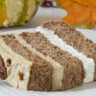Pecan Latte Gateau Gluten-Free Low-Carb Dessert