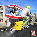 City Bike Rider: Pet Animal Transport Game