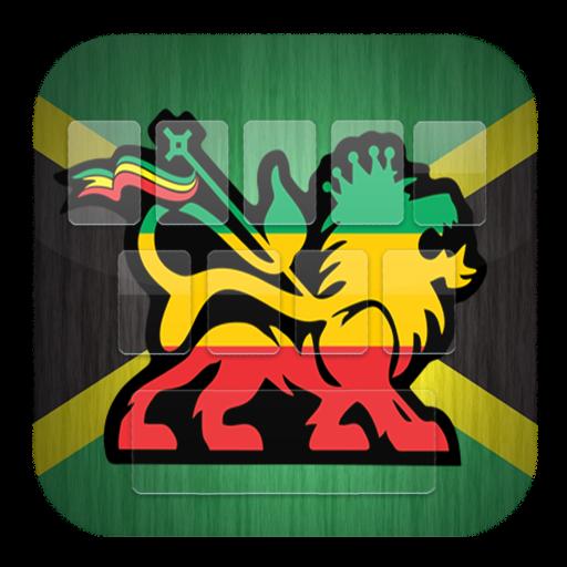 Regaton Jamaica Rasta Keybord 個人化 LOGO-玩APPs