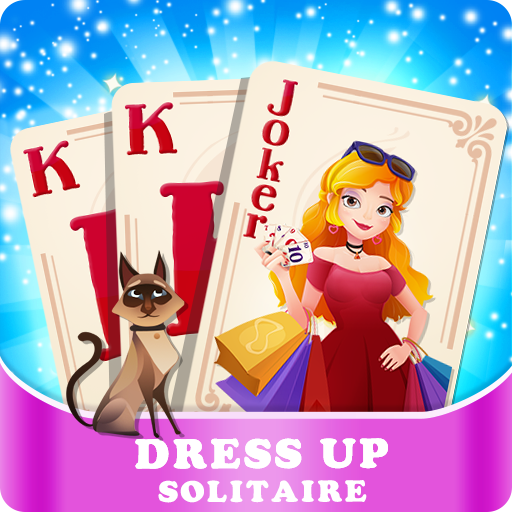 Solitaire Girl Dress Up! Icon
