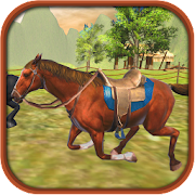 Cowboy Horse Racing Simulator