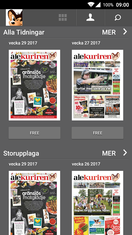 Alekuriren- screenshot