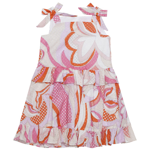 Primary image of Emilio Pucci Sleeveless Bow Dress