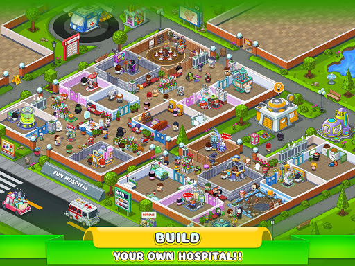 Fun Hospital u2013 Tycoon is back 2.13.0 screenshots 6