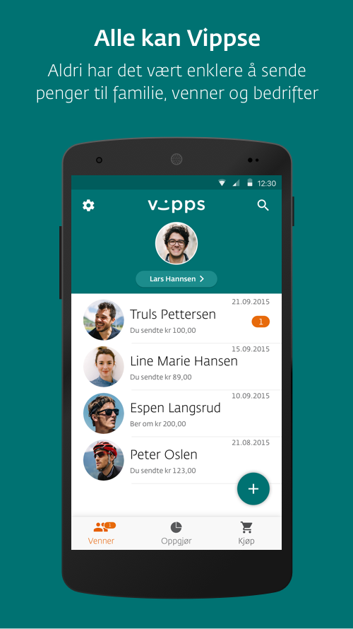 Vipps- screenshot