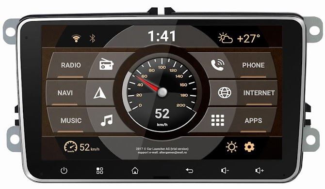 Car Launcher AG Android 4