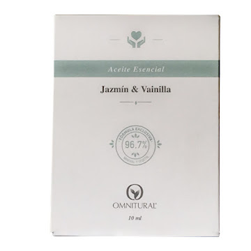 //Aceite Omnitural   Esencial de Jazmín y Vainilla x10ml.