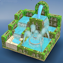 Flow Water Fountain 3D Puzzle icon