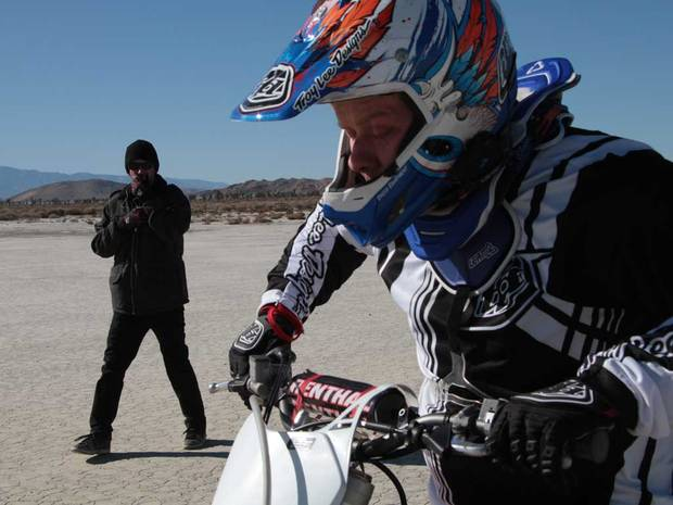 Photo: Matthew Wadsworth: Blind ambition  His disability didn't stop Matthew Wadsworth becoming a top musician. And it won't stop him trying to set a world motorbike-jumping record either.  Read the full story at http://ind.pn/Ly2BcR
