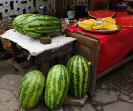 Photo: Year 2 Day 54 -  Melons on a Stall