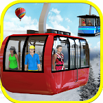 Extreme Sky Tram Driver Simulator - Tourist Games Icon