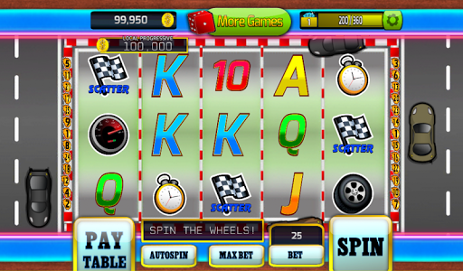 Sloys Action Racing Slots Game