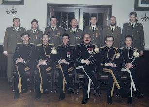 Photo: 15 Nov 1985 Plainchamp, Vermaerke, Amel, Van De Velde, Vandongen, Promelle, Vandevoorde. Van Hoorebeke, Maes, Van den Borre, Ceulemans, Driessens, Delval