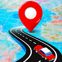 Navigation Voice Route Map Traffic Live Directions icon