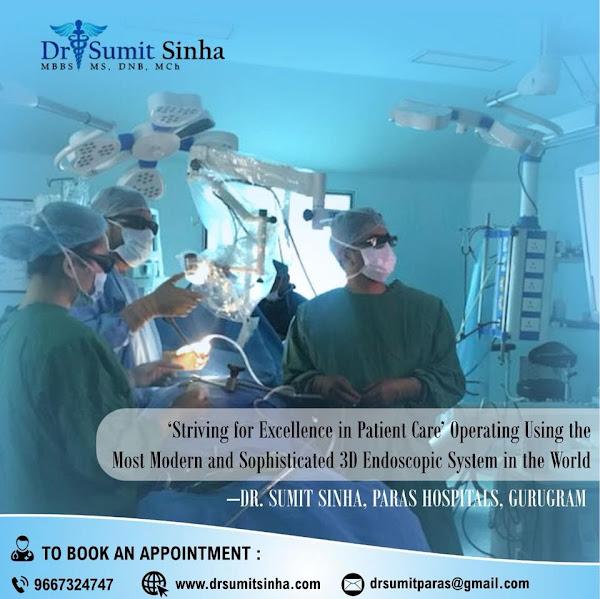 Dr Sumit Sinha Best Neurosurgeon in Gurgaon, Delhi, India