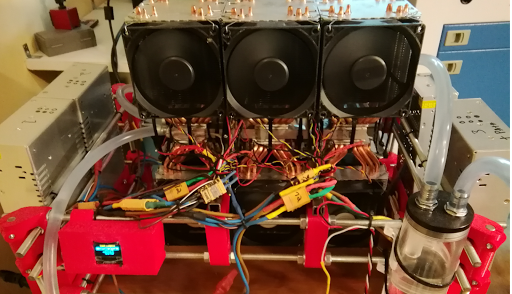 refroidisseur laser electron libre