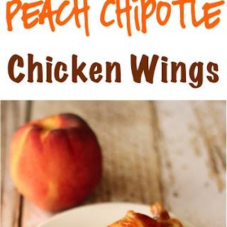 Crockpot Peach Chipotle Chicken Wings Recipe!.