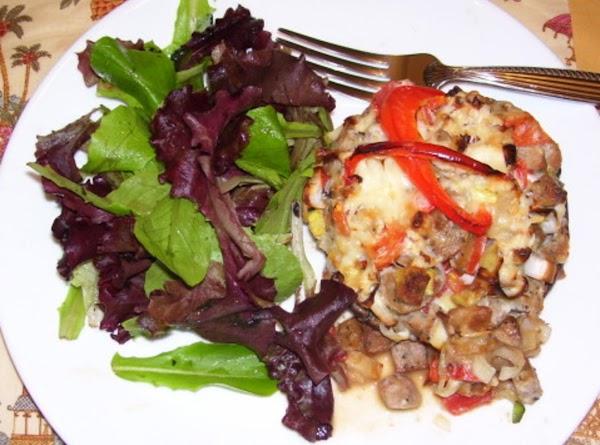 Portabello Mushrooms With Leeks And Sausage Recipe