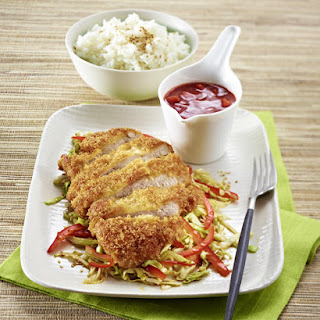 Panko-Breaded Fried Pork Chops