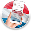 Luxembourg Flag Keyboard - Elegant Themes APK