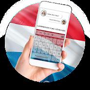 Luxembourg Flag Keyboard - Elegant Themes APK icon