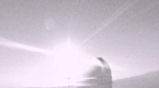 Impresionante vista desde Calar Alto: dos bolas de fuego recorren el cielo