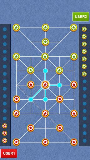 Bead 16 - Tiger Trap ( sholo guti ) Board Game ud83eudde0 1.05 screenshots 22