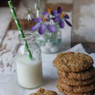 Mum's Golden Oat Cookies.
