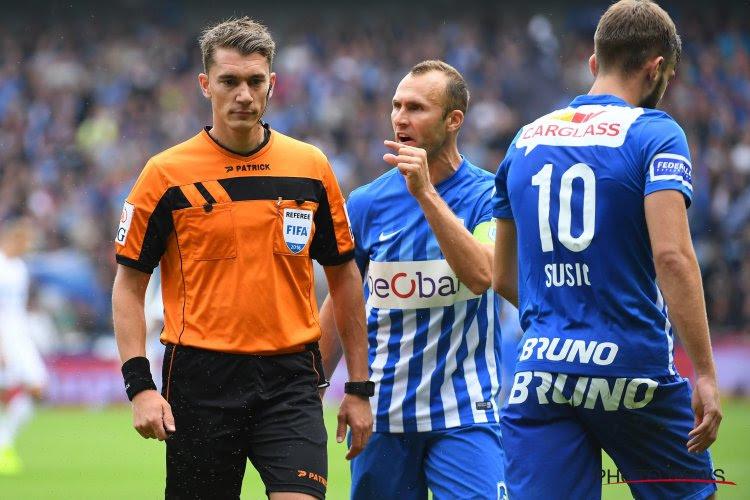 Bekritiseerde ref Lardot reageert na Genk - Anderlecht
