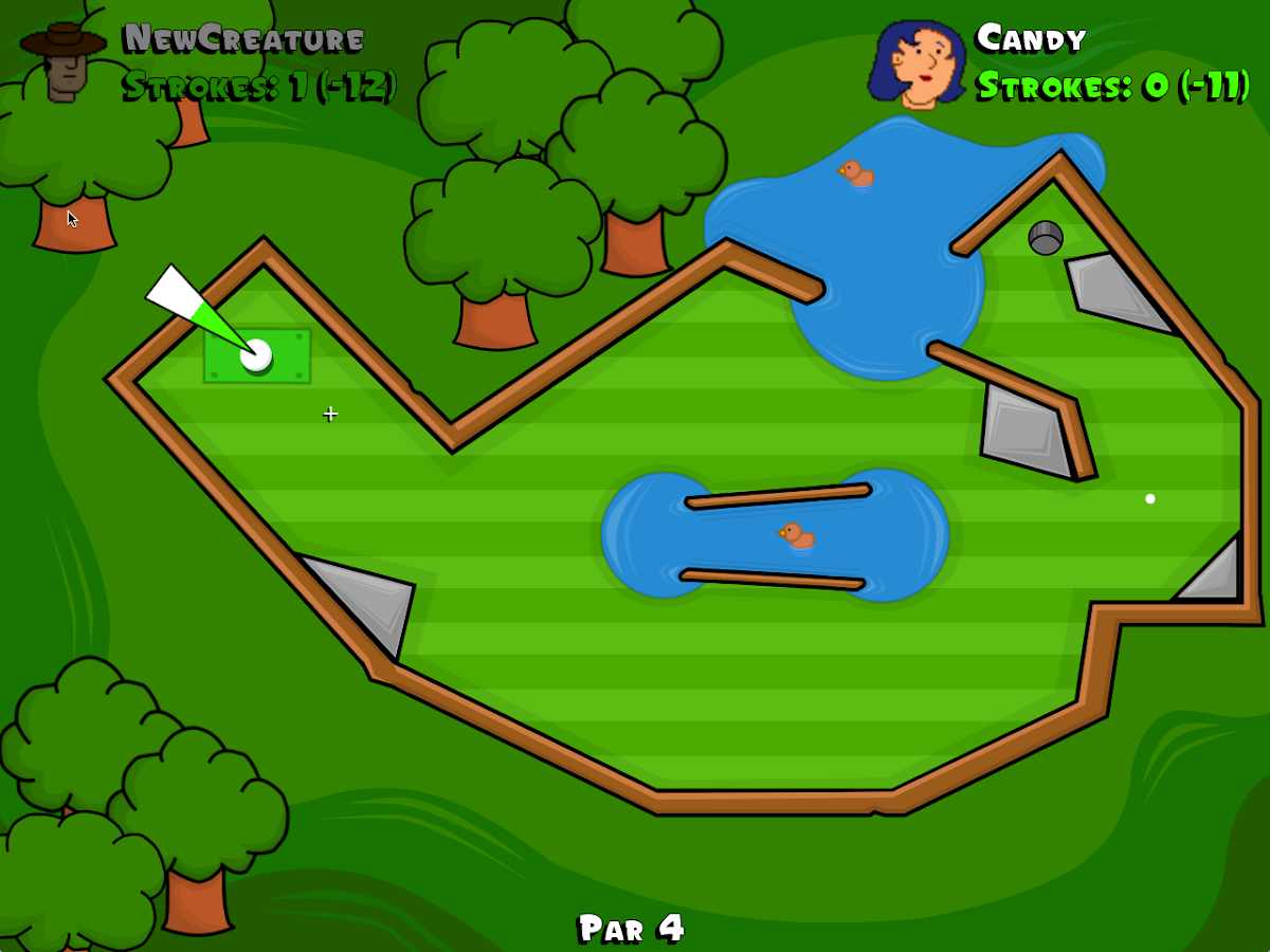 vGolf Deluxe Demo- screenshot