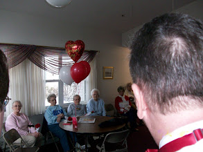Photo: some of Audrey's friends at Merriam Heights