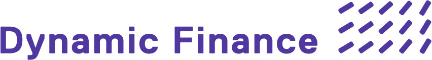 Logo dynamic lila dynamic finance