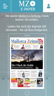 Kiosk Mallorca Zeitung - náhled