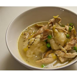 Homemade Chicken Dumpling Soup