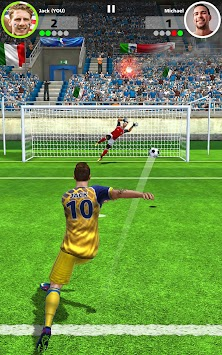 Fotbal Strike - Multiplayer Soccer APK screenshot thumbnail 12