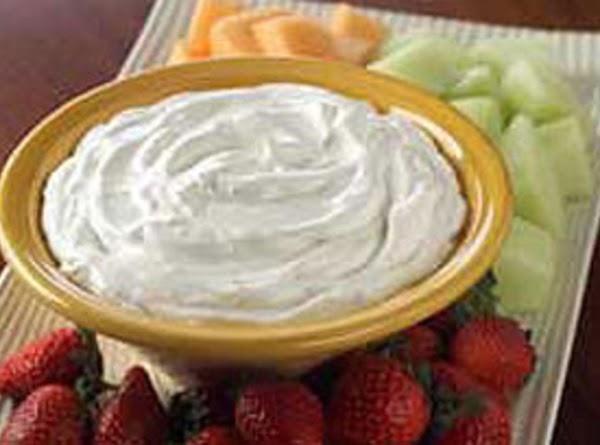 Orange Creamsicle Fruit Dip Recipe
