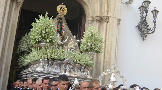 Salida de la Virgen del Mar.