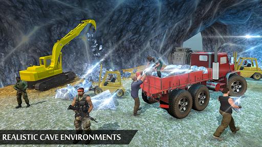 Grand Excavator Simulator - Diamond Mining 3D screenshot 7