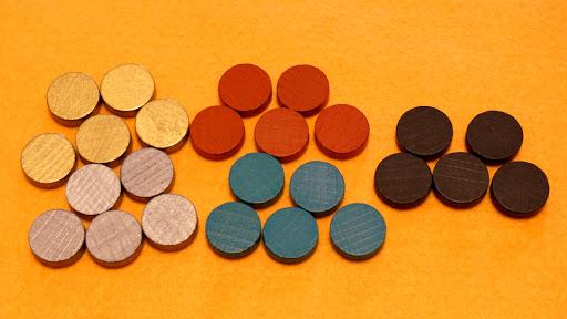 メルカド:ゲームの準備・コイン