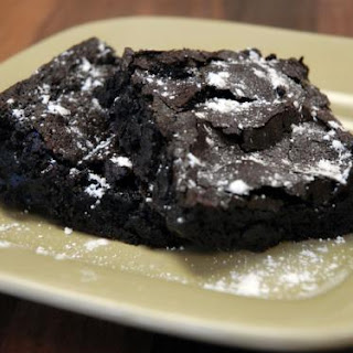 Fallon's Gluten Free Fudge Brownies.