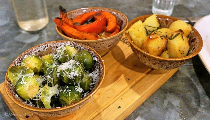 root crops as sides