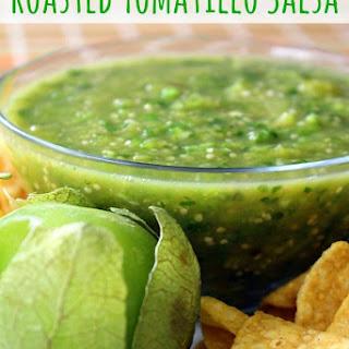Roasted Tomatillo Salsa.