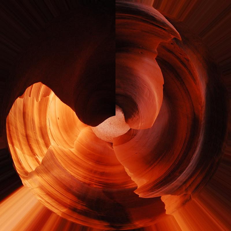 vortice nel canyon di domenicolobinaphoto