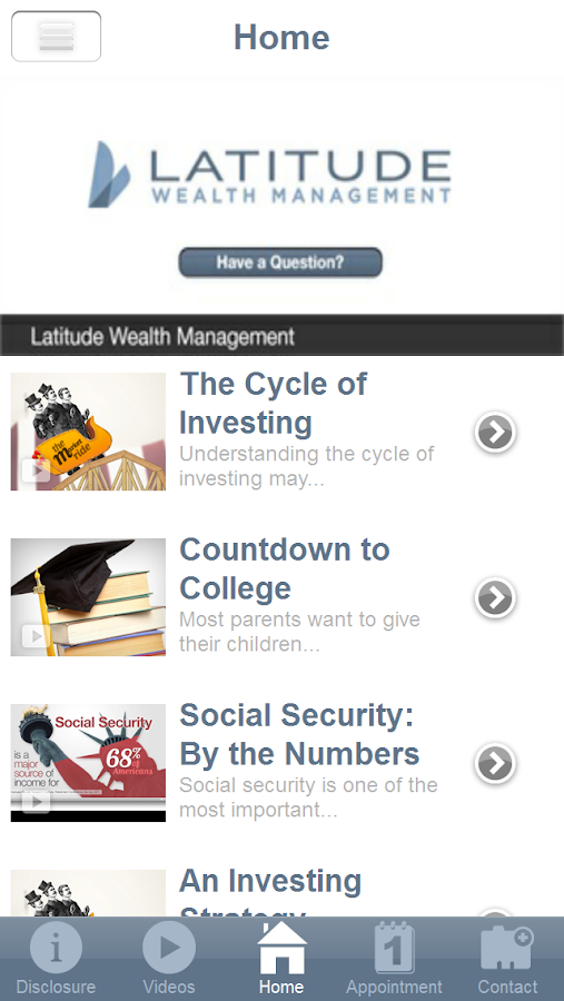 Latitude Wealth- screenshot