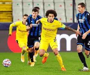 Axel Witsel mis sur la touche face à la Lazio