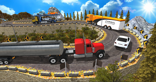 Euro Truck Uphill Simulator for Android apk 4