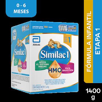 Formula Infantil Similac Etapa 1 Prosensitive x 1400Gr