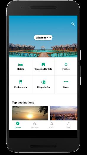 Screenshot 0 for TripAdvisor's Android app'