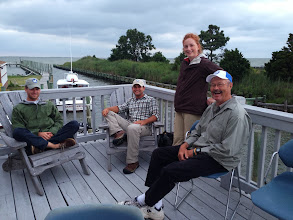 Photo: Our fearless crew; Ian, Thomas, Allyson and Captain Charles